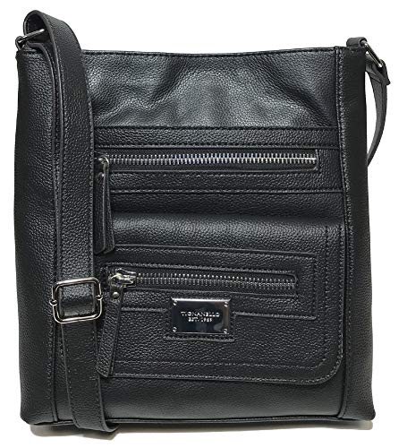 Tignanello Perfect Pockets Large Function Cross Body, Black