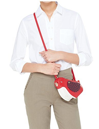 Kate Spade Women's Red Ooh La La Bird Crossbody