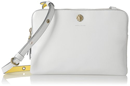 Anne Klein Dual Compartment Crossbody