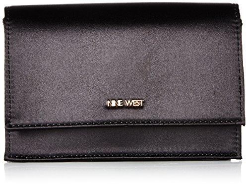Nine West Mini Anndi Convertible Clutch Crossbody, Black