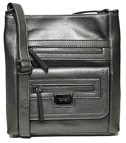 Tignanello Perfect Pockets Large Function Cross Body, Zinc