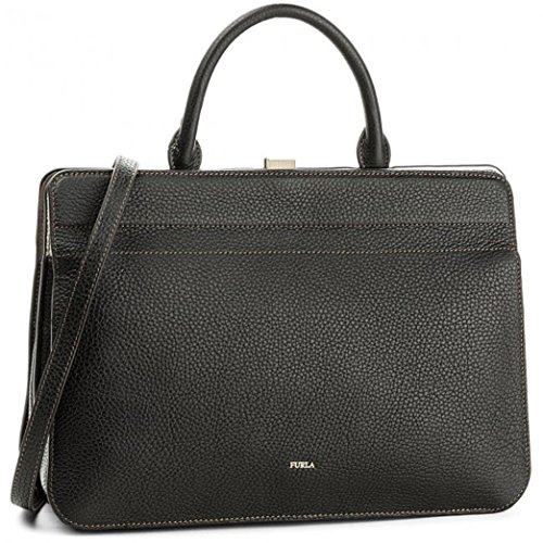 FURLA MIRAGE TOP HANDLE M ONYX