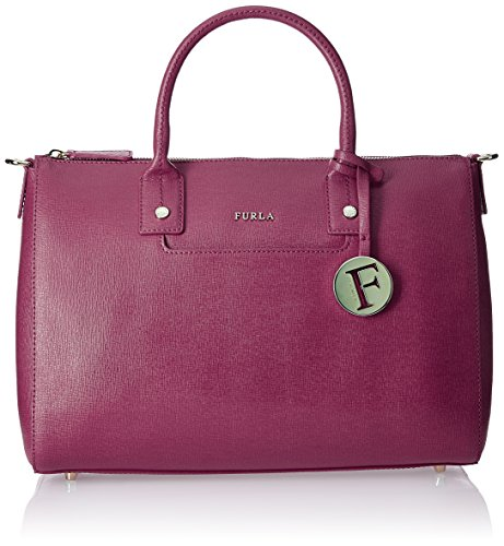 Furla Linda Medium Leather Satchel