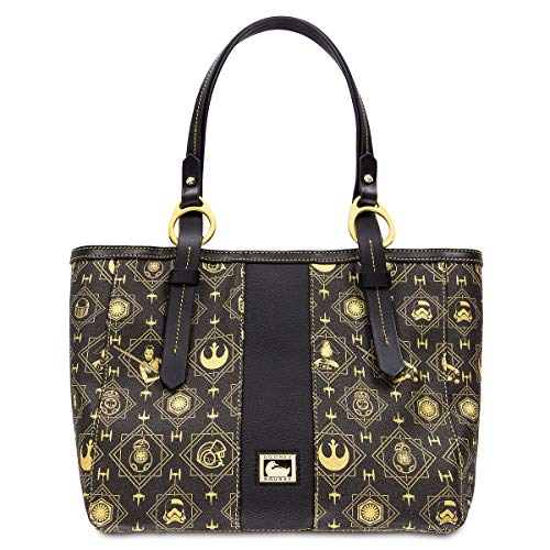 Disney Dooney & Bourke Star Wars: The Last Jedi Black Tote Purse