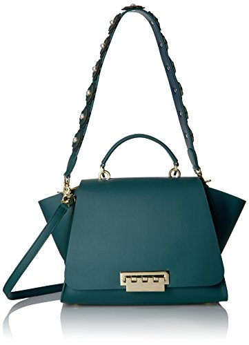 ZAC Zac Posen Eartha Iconic Soft Top Handle-Solid with Novelty Strap