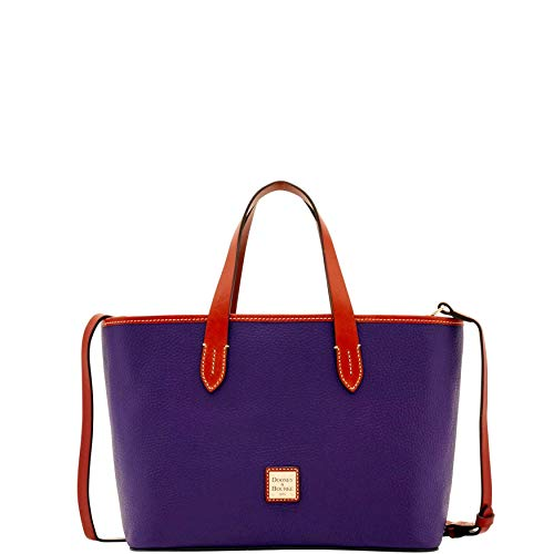 Dooney & Bourke Pebble Grain Leather Brandy Bag, Plum