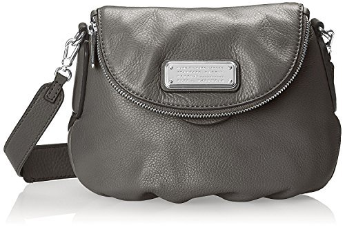 Marc by Marc Jacobs New Q Mini Natasha Cross-Body Bag (Faded Aluminum/Silver)