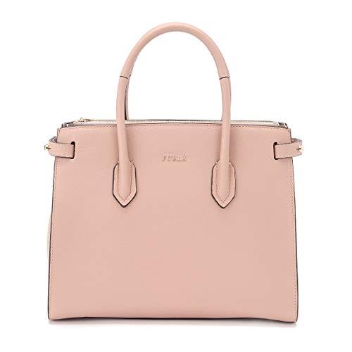 Furla Women's Borsa A Mano Furla Pin S In Pelle Rosa Pink