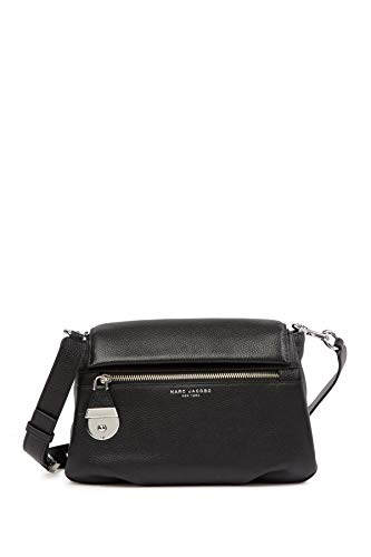 Marc Jacobs The Standard Shoulder Bag Womens Cow Leather Black Shoulder Bags