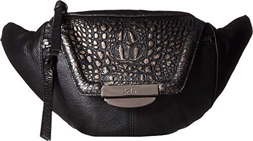 Kooba Women's Panama Belt Bag Black/Metallic Black Croco One Size