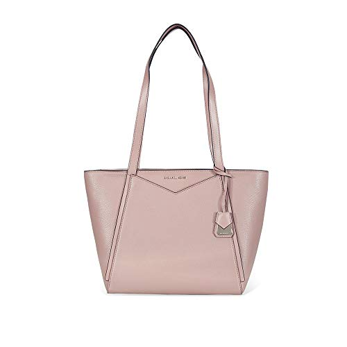 Michael Kors Whitney Small Pebbled Leather Tote in Fawn