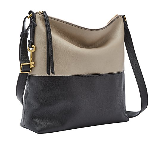 Fossil Charlotte Hobo Black/Taupe