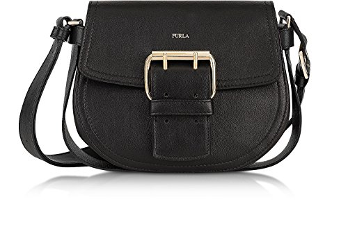 Furla Women's Hashtag Small Crossbody Onyx