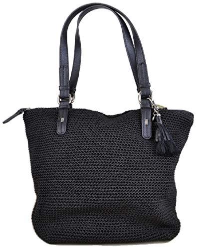 The SAK Silverwood Crochet Bag, Black