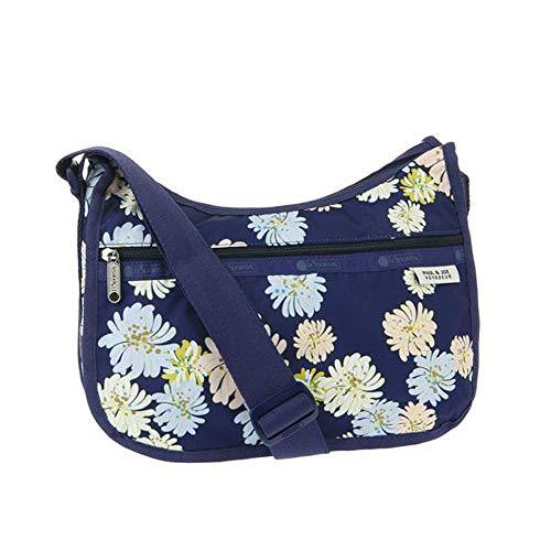 LeSportsac Paul & Joe, Chrysantheme Classic Hobo Crossbody Handbag, Style 7520/Color G430