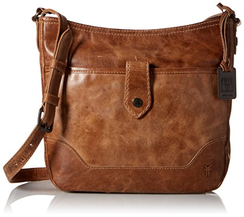 Frye Melissa Button Crossbody Bag, Beige, One Size