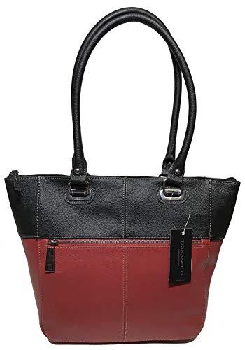 Tignanello Perfect Pockets Medium Tote, Rouge/Black