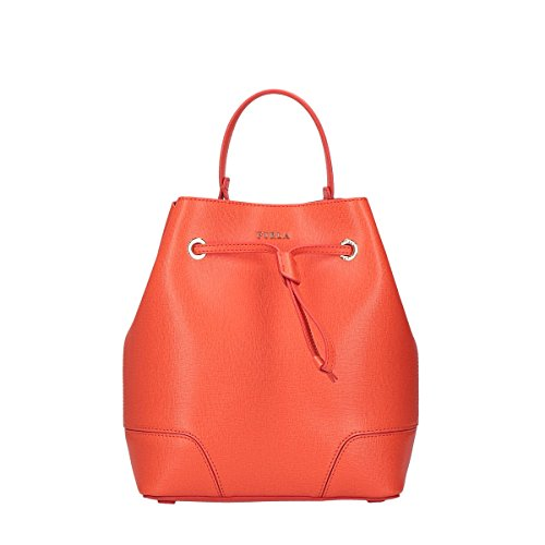 Furla Stacy S bucket bag Drawstring Mango