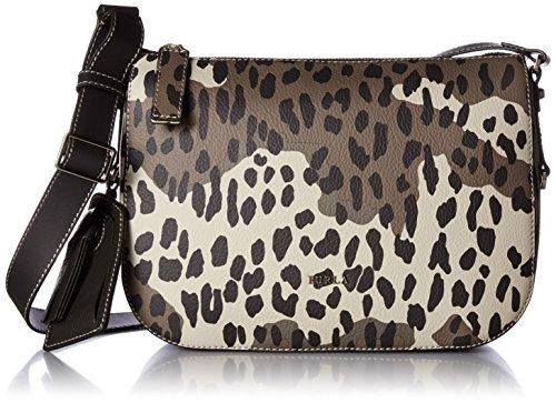 Furla 852336 Emma Toni Safari Italian Leather Zip Top Crossbody