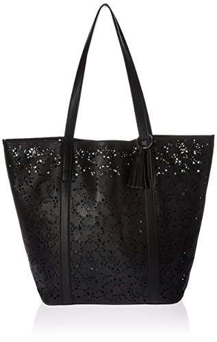 Lucky Brio Tote Bag, Black/Indigo