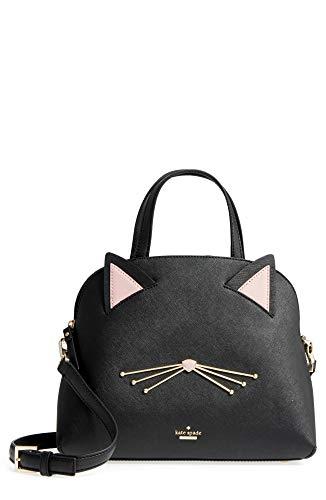 Kate Spade Women's cat's meow lottie Leather Satchel Handbag