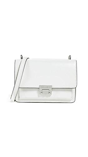 Rebecca Minkoff Women's Christy Small Shoulder Bag, Bianco, One Size