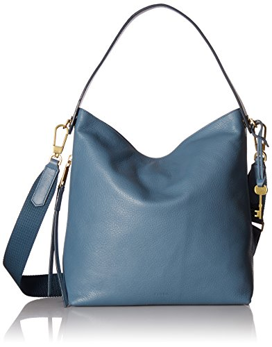 Fossil Maya Small Hobo Handbag, Faded Indigo,One Size