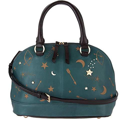 Tignanello Vintage Leather Andromeda Mini Dome Crossbody, Etched Juniper