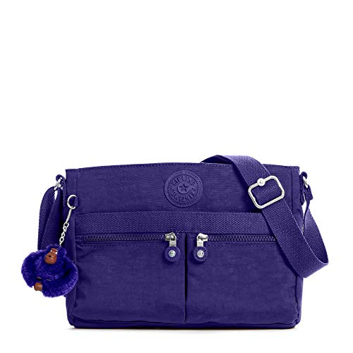 Kipling Angie Handbag Berry Blue