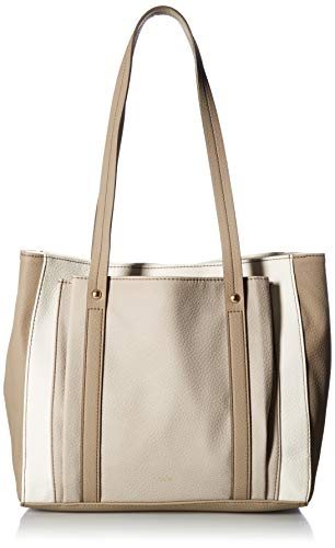 Relic by Fossil Bailey Double Shoulder Bag Grey, White