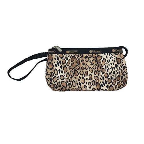LeSportsac Small Koko Wristlet, Ombre Cheetah