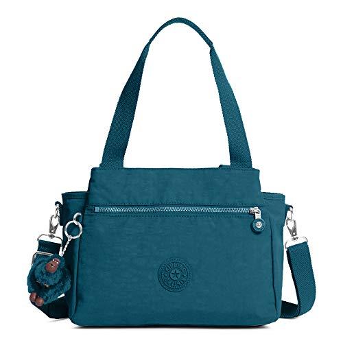 Kipling Elysia Handbag Gleaming Green