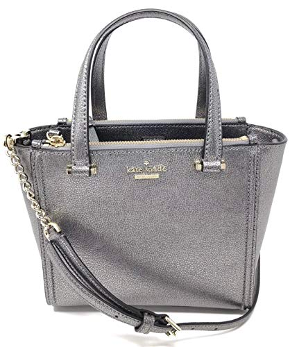 Kate Spade Kona Patterson Drive Crossbody Handbag – Pewter (Dark Silver)