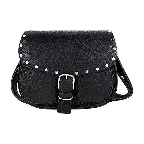 Rebecca Minkoff Biker Ladies Medium Leather Saddle Handbag HU17EDBL02