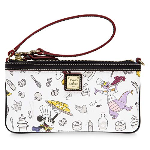 Disney Epcot International Food & Wine Festival 2018 Wristlet by Dooney & Bourke