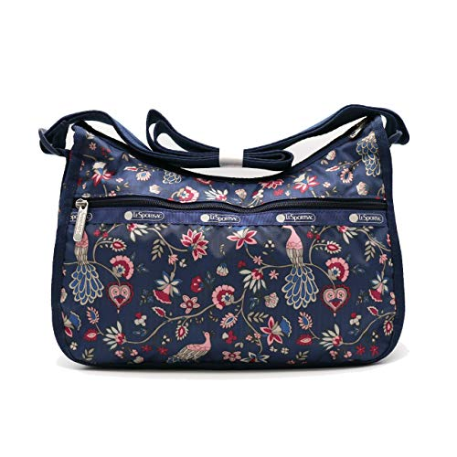 LeSportsac KR Exclusive Classic Hobo Handbag in Peacock Afternoon