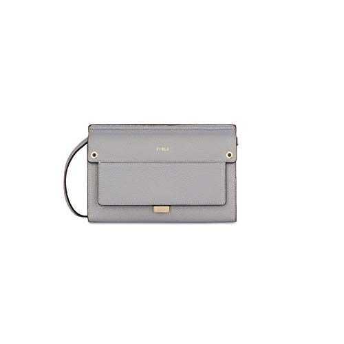 Furla Like Ladies Mini Gray Onice Leather Crossbody 978262