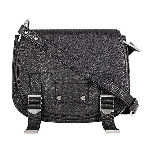 Rebecca Minkoff Ladies Small Leather Saddle Bag HF17FMDL28