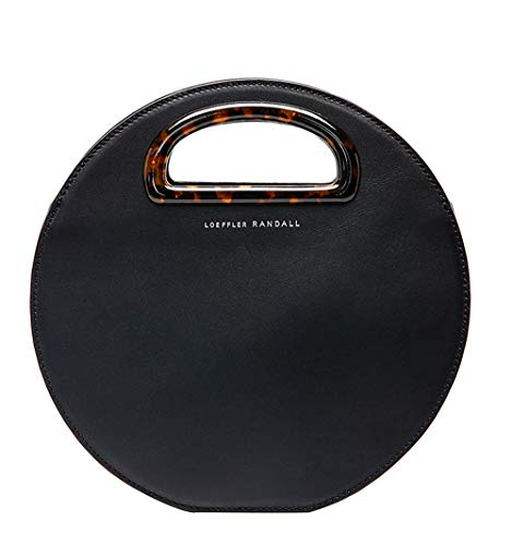 Loeffler Randall Indy Circle Crossbody Handbag in Black