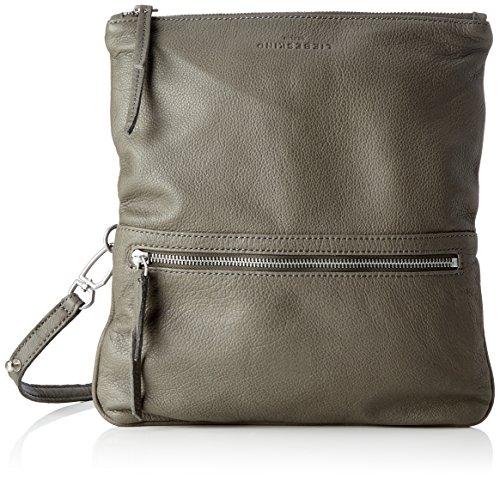 Liebeskind Berlin Aloe7 Vintag, Women's Cross-Body Bag, Grau (Storm Grey), 3x16x29 cm (B x H T)
