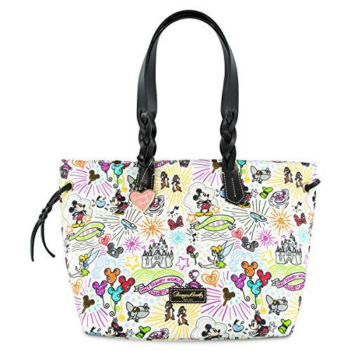 Disney Sketch Nylon Shopper Tote Purse by Dooney & Bourke