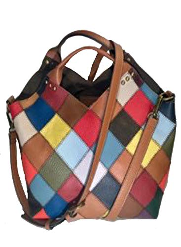 Kooba Muti colored patchwork Shopper