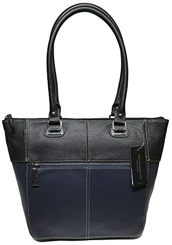 Tignanello Perfect Pockets Medium Tote, Midnight/Black
