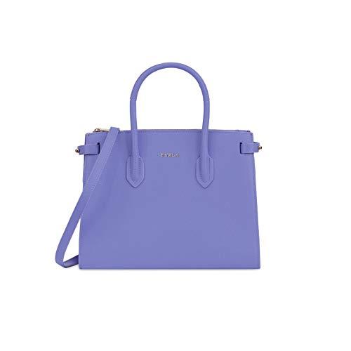 Furla Pin Ladies Small Purple Lavanda Leather Tote 977679