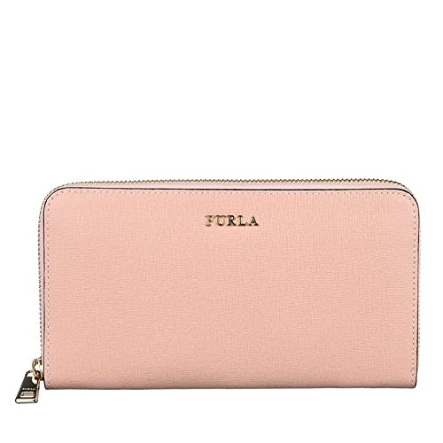 Furla Babylon wallet zip around woman petal