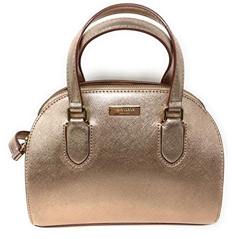 Kate Spade New York Mini Reiley Laurel Way Satchel Crossbody Bag in Rose Gold
