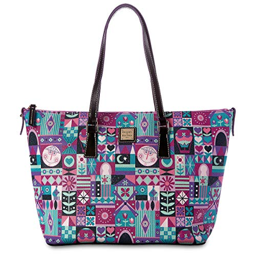"Disney Parks ""it's a small world"" Shopper Tote Purse by Dooney & Bourke"
