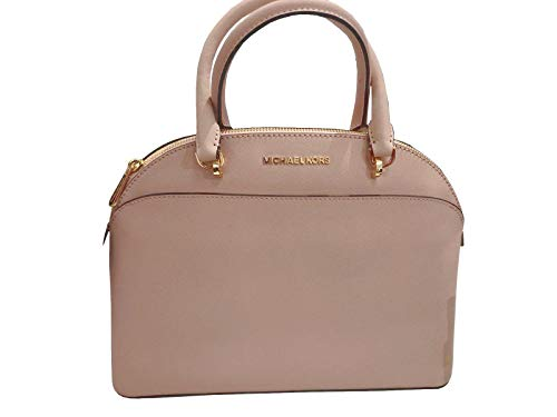MICHAEL Michael Kors EMMY Women's Shoulder Handbag LARGE DOME SATCHEL (Ballet)