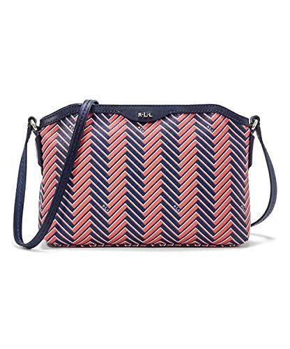 Ralph Lauren Sunkist & Marine Chevron Boswell Crossbody Bag