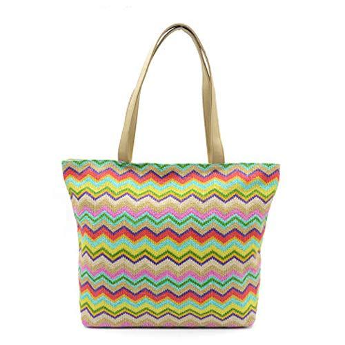 Stylesty Fashion Shopping PU Tote Bag, Designer Shoulder Handbags with Key Ring … (Large, Black 4)